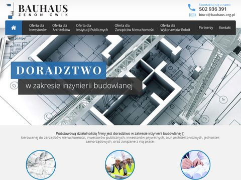 Bauhaus.org.pl - kierownik budowy domu Wrocław