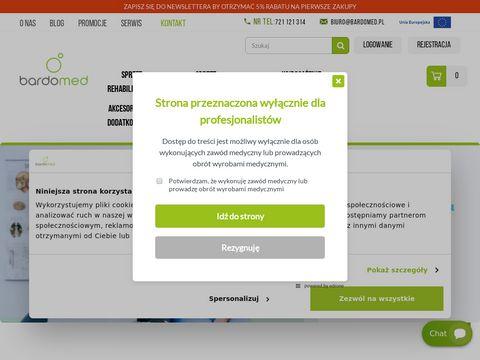 Bardomed.pl sprzęt rehabilitacyjny, medyczny