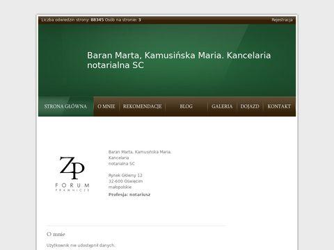 Znanyprawnik - usługi notarialne