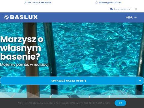 Producent basenów - Baslux