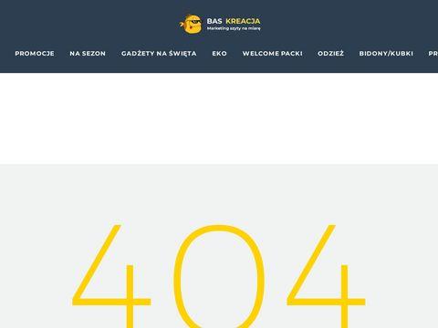 Bas Kreacja – Gadżety reklamowe, poligrafia, słodycze reklamowe
