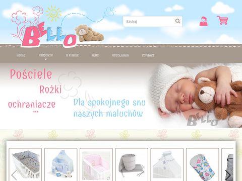 Bello24.pl pościel dziecięca dla chłopca