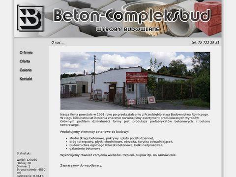BETON-COMPLEKSBUD sp. z o.o. usługi budowlane