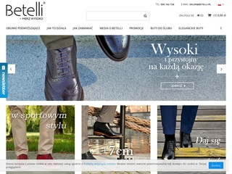 Betelli - buty podwyższające