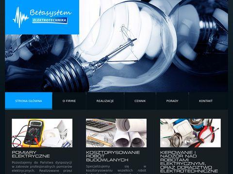 BetaSystem - instalacje elektryczne Olsztyn