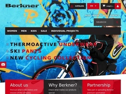 Berkner.pl koszulka termoaktywna męska