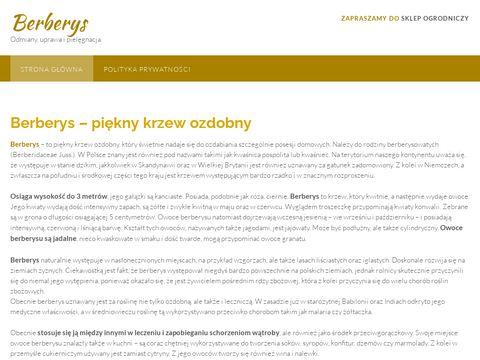Berberys.com.pl - blog ogrodniczy
