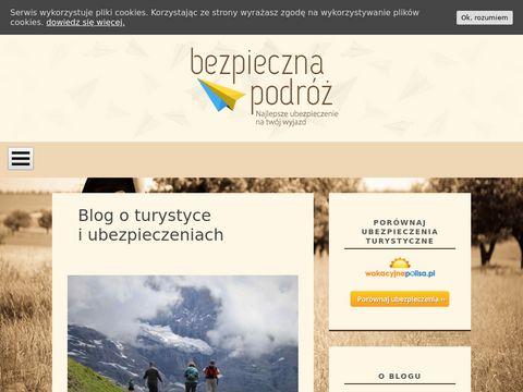 Bezpieczna-podroz.pl - informacje turystyczne
