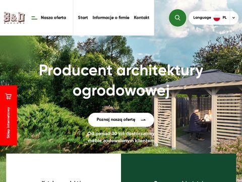 Bdburchex.com.pl pergole drewniane