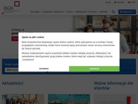 Bgk.pl Bank Gospodarstwa Krajowego
