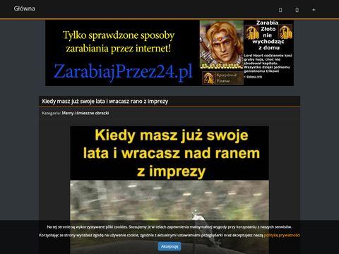 Byczastrona.pl blogowanie zarabianie e-biznes