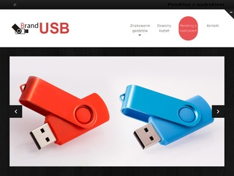 Brandusb.pl pendrivy z nadrukiem logo producent