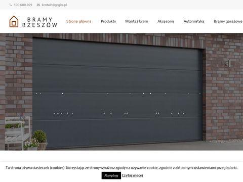 Bramyrzeszow.pl garażowe