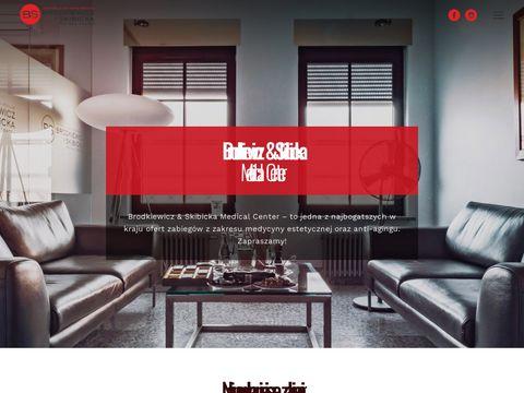Brodkiewicz-skibicka.pl - wypełnianie zmarszczek