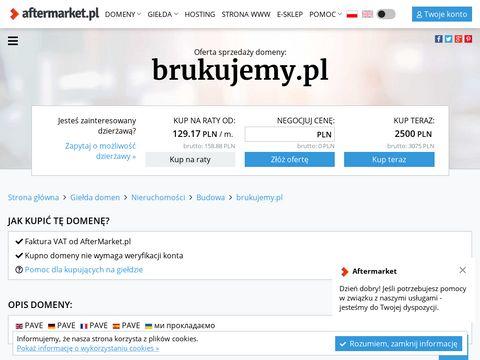 Brukujemy.pl brukarstwo