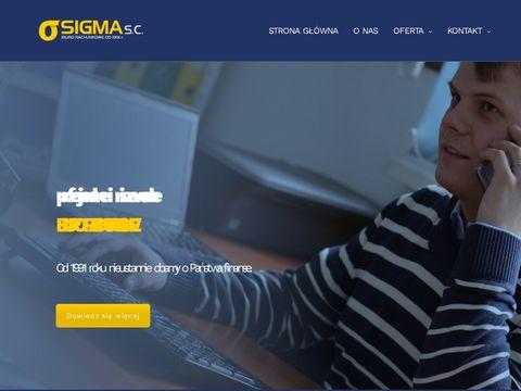 Sigma prowadzenie księgowości dla firm Warszawa