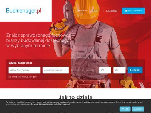 Budmanager.pl serwis z ogłoszeniami budowlanymi