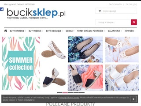 Buciksklep.pl - sklep z butami