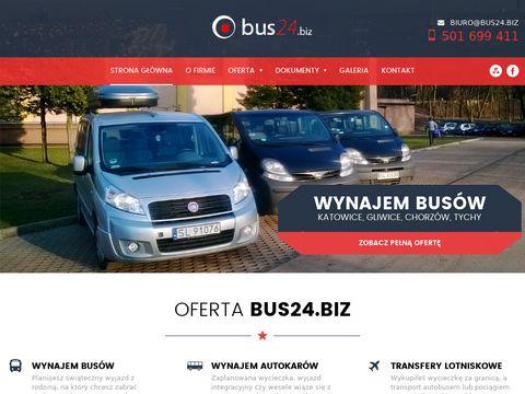 Bus24.biz - przewóz osób ruda śląska