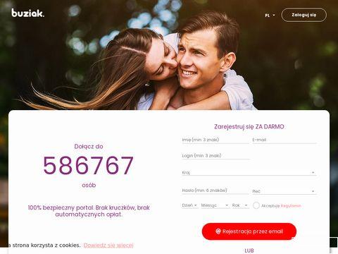 Buziak.pl - twój portal randkowy