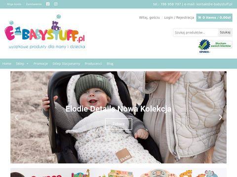 E-babystuff.pl akcesoria dla dzieci i niemowląt