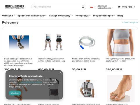 E-medicalbroker.com medyczny sklep internetowy