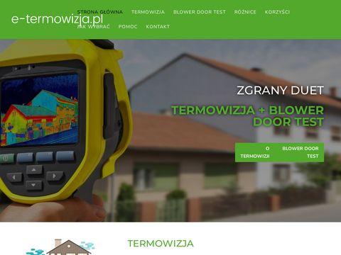 E-termowizja.pl pomiary Warszawa
