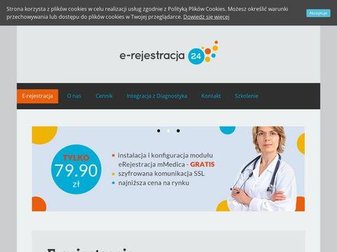 E-rejestracja24.eu - rejestracja pacjenta