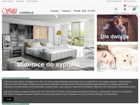 E-studiosnu.pl sklep internetowy z łóżkami