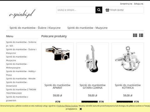 E-spinki.pl do koszuli