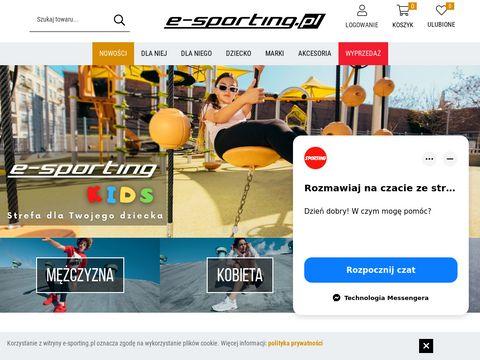E-sporting.pl - buty do fitnessu