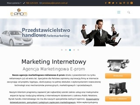 E-prom.com.pl agencja promocyjno reklamowa