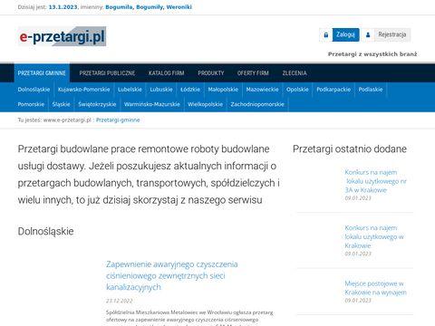 E-przetargi.pl Katowice