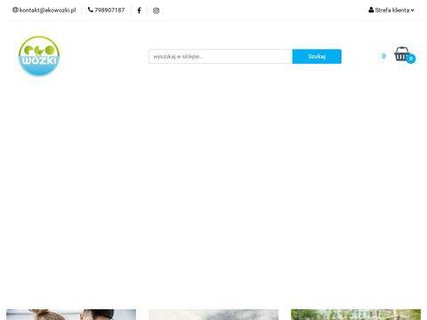 Wózki dziecięce - Ekowózki