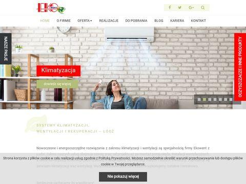 Ekowent Sp. z o.o. Produkcja i montaż instalacji