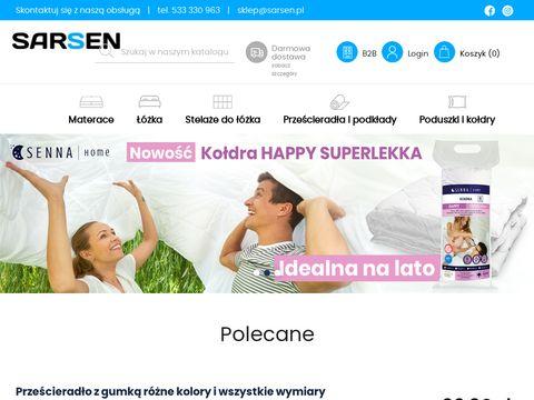 Ekomaterace.pl prześcieradła lateksowe