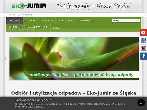Ekojumir.pl utylizacja odpadów Śląsk