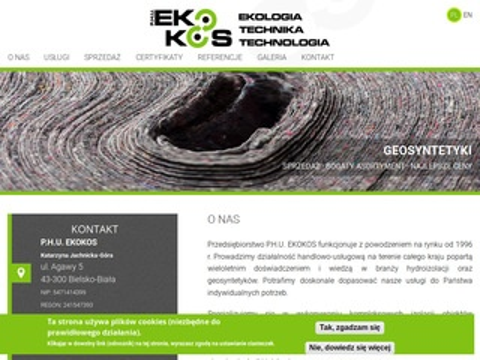 Ekokos.com.pl folia PEHD