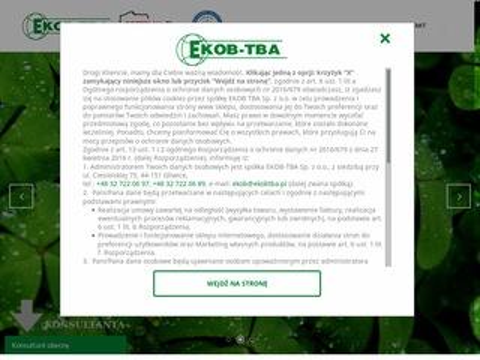 EKOB-TBA - oczyszczanie ścieków przemysłowych