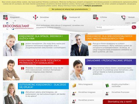Ekoconsultant.pl outsourcing