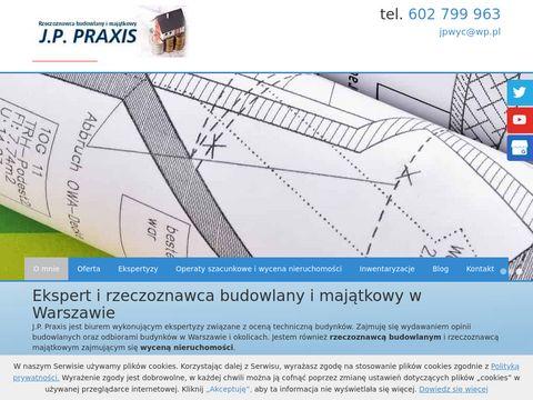 J.P. Praxis. odbiór mieszkania Warszawa