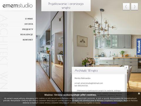 Emem Studio projektowanie wnętrz