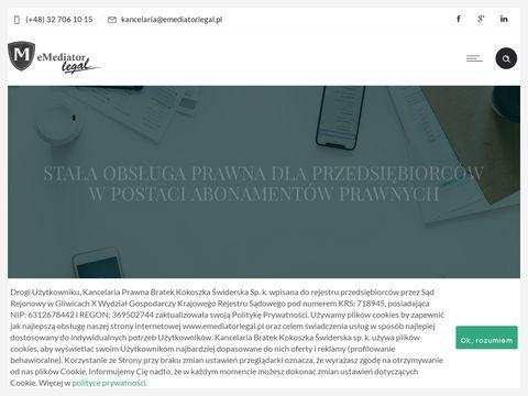 Emediatorlegal.pl prawnik Gliwice