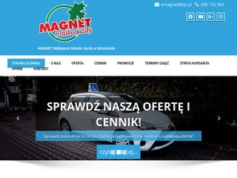 Magnet nauka jazdy kat b Szczecin