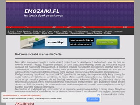 EMozaiki.pl - piękne mozaiki szklane