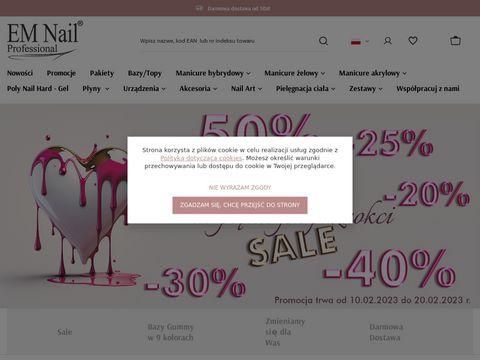 Em-nail.pl - stylizacja