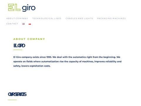 El Giro Automatyka Przemysłowa automatyka