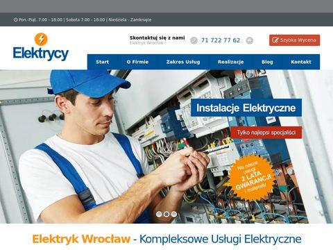 Elektrycy-wroclaw.pl - usługi elektryczne
