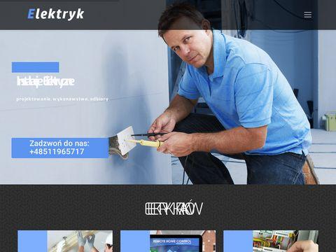 Elektrykwkrakowie.com.pl Kraków
