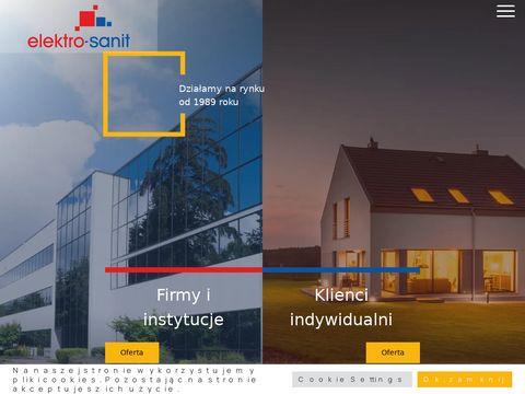 Elektro-Sanit - pompy ciepła Olsztyn